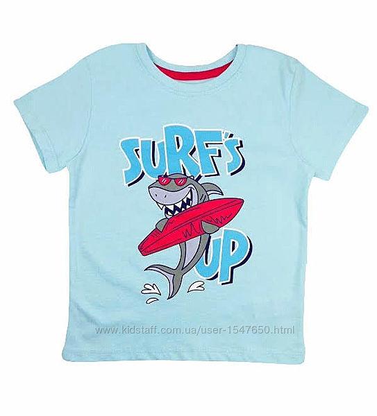 Стильная футболка с акулой для мальчика, primark