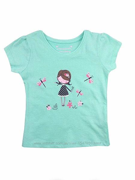 Стильная футболка для девочки, primark
