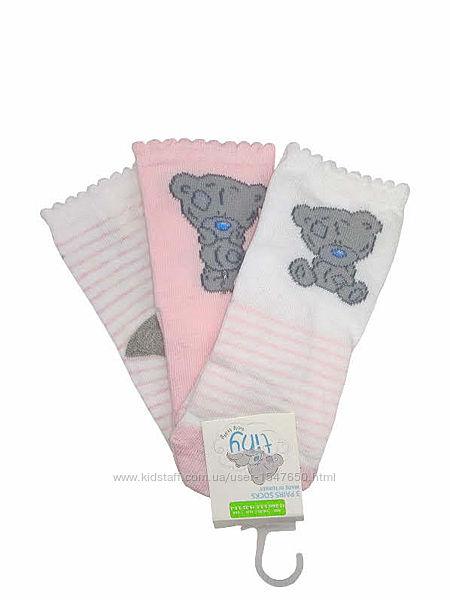 Нежные носки с медвежатами для девочки, primark