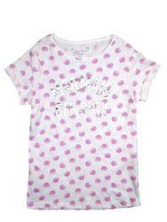 Белая футболка для девочки 7 - 10 лет, primark