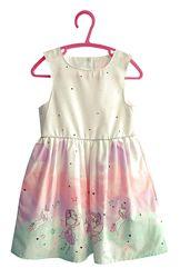 Платье, сарафан с феями и единорогами на девочек 1 - 1,5 года, YD