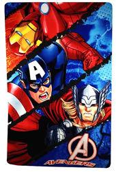 Флисовый плед Мстители, Avengers, Marvel, Sun City