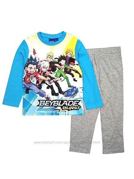 Хлопковая пижама бейблейд, Beyblade на мальчика, Sun City, Disney