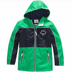 Непромокаемая куртка, дождевик, ветровка на флисе на мальчика 98р. ,Topolino
