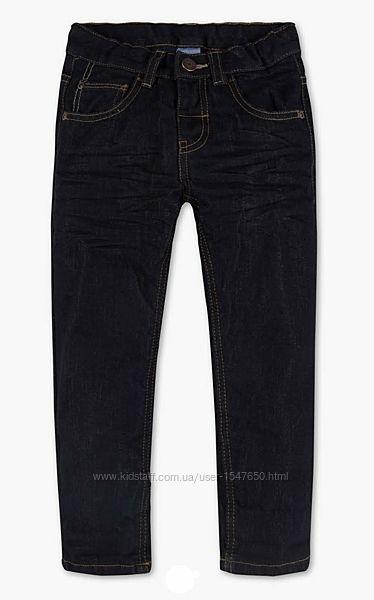 Утепленные джинсы на флисе на мальчика 98-110  р. Palomino C&A