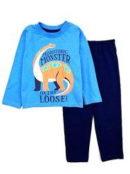 Хлопковая пижама с динозавром на мальчика р. 92, 98 Primark