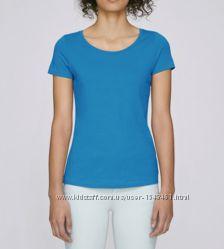 Базовая голубая футболка Atmosphere