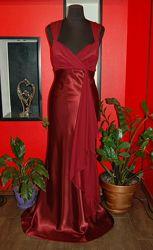 Gino cerruti женское невероятно элегантное вечернее платье в пол