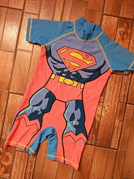 Купальный солнцезащитный костюм next супермен