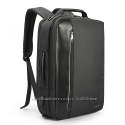 Многофункциональный  бизнес рюкзак-сумка трансформер 4в1 для ноутбука 15, 6