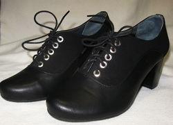Туфли женские кожаные р.41 из натуральной кожи полномерные
