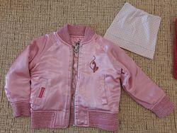 Двухсторонняя куртка курточка ветровка перламутровая