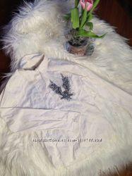 Рубашка с стразами