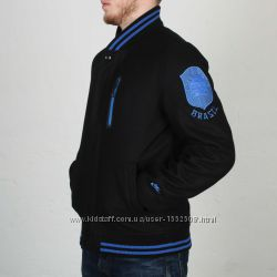 Nike bomber jacket brazil wool осень весна