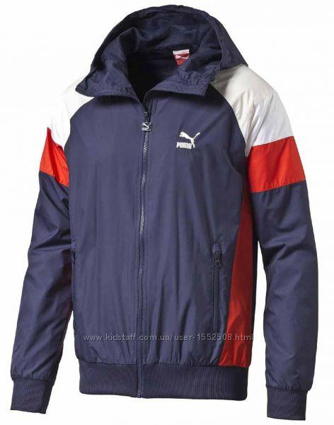 Puma wind jacket peacot куртка ветровка мастерка