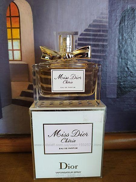 Dior Miss Dior Cherie Eau de Parfum 50 ml Оригинал Вечная Классика Снятость