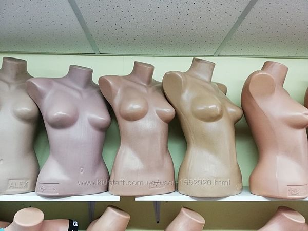 Торговое оборудование манекены женские торс