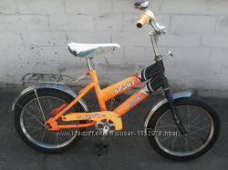 Детский велосипед Mustang sport R16 колес на 4-6 лет