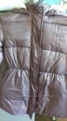 Продам утепленную куртку для девочки рост140