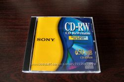 Диск CD-RW Sony 650Mb