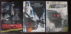 Диски NFS ProStreet, фильмы Макс Пейн, Тройной форсаж Токийский дрифт