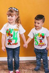 Праздничные футболки на Др и на каждый день