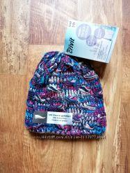 Вязаная детская шапка с флисом one size, 40-28 Ю