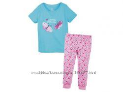 Пижамный комплект для девочки размер 98-104, 41-28 Ю