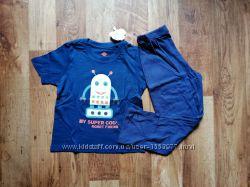 Синяя пижама для мальчика Робот