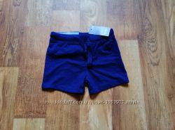 Синие летние шортики для мальчика