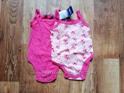 Набор розовых летних бодиков
