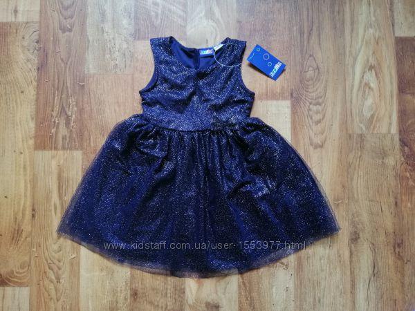 Праздничное детское платье с фатином