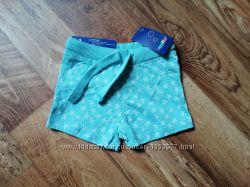 Летние хлопковые шортики для малышки