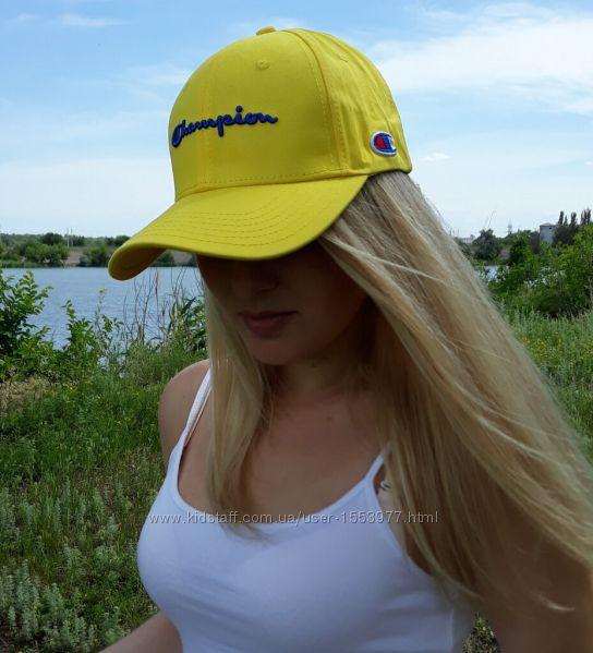 Бейсболка чемпион кепка champion cap желтая