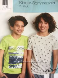 Набор из двух футболок для мальчика р116