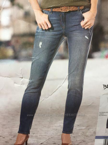 Женские джинсы стильные с высокой посадкой размер М