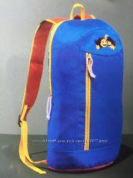 Детский мягкий рюкзак синий ортопедическая спинка