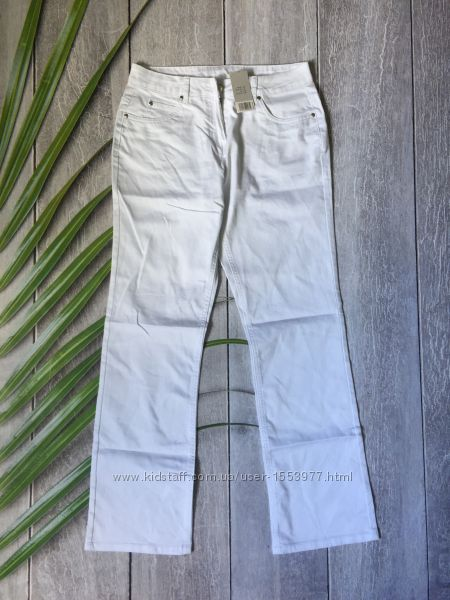Белые джинсы брюки женские штаны форма для медика 38