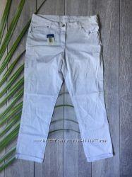 Белые брюки женские штаны форма для медика L