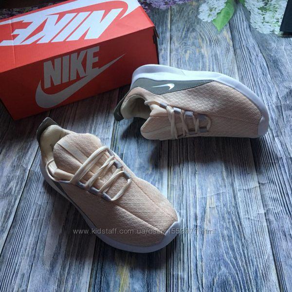 Новые кроссовки реплика Nike женские персиковые