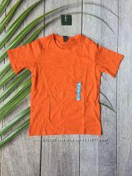 Уценка подростковая футболка оранжевая