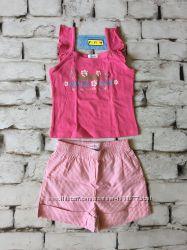 Комплект нарядный летний набор на девочку шорты топ Италия