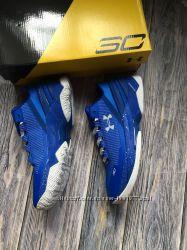 Новые мужские кроссовки реплика Under Armour синие
