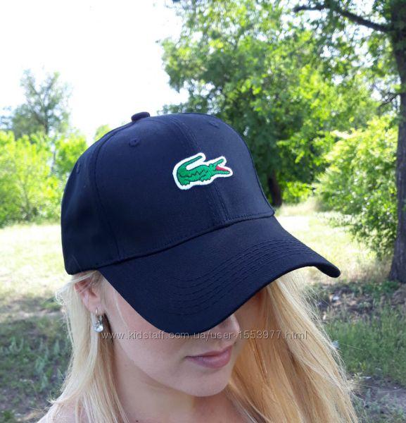 Бейсболка блейзер кепка реплика Lacoste черная