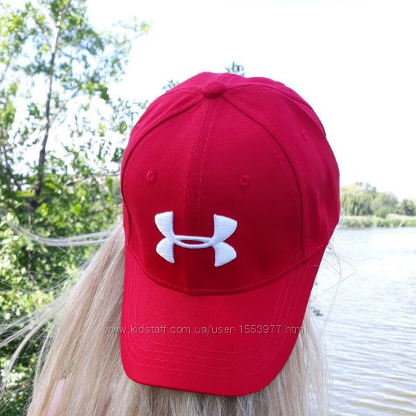 Бейсболка блейзер кепка реплика Under Armour красная