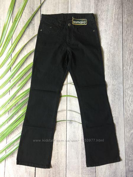 Женские джинсы темно синие со стразами момс