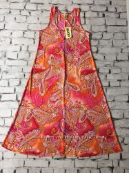 Яркий сарафан летний платье принт