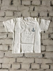 Белая футболка детская с заклепками Италия