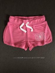Детские удобные мягкие модные розовые шортики на девочку