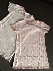 Набор из двух розовых мягких хлопковых рубашек
